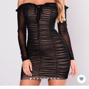 Maura Mesh Dress